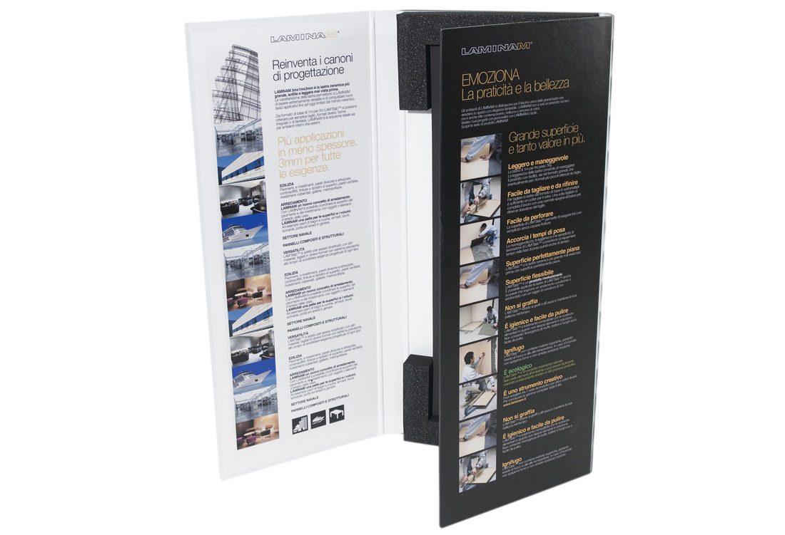 Folder porta campione