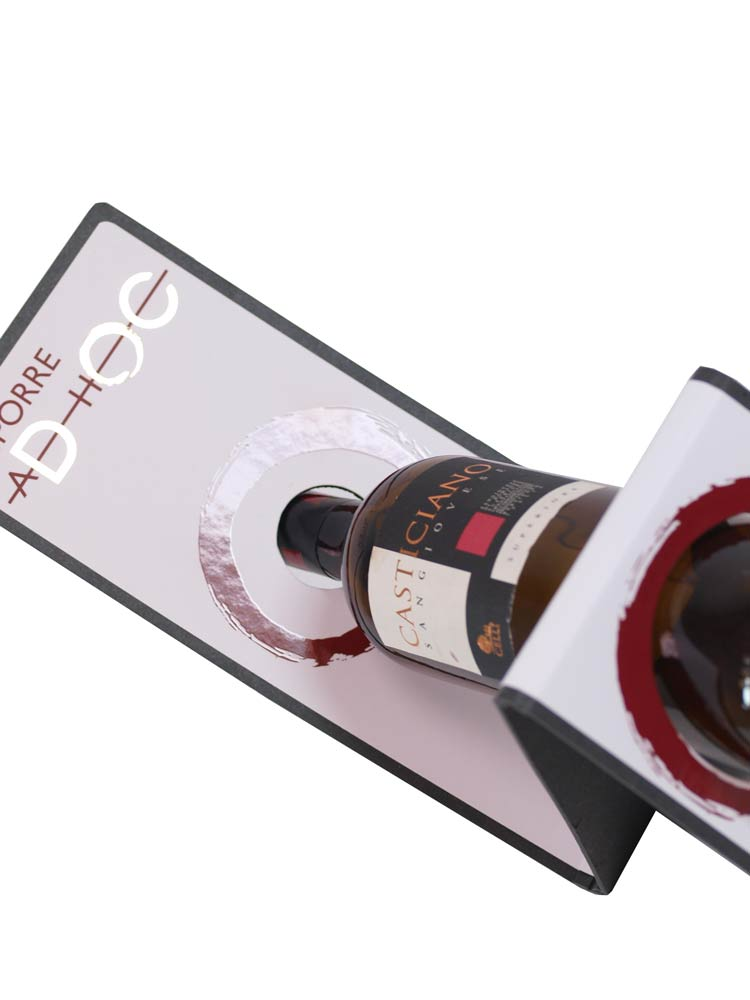 Espositore bottiglia di vino
