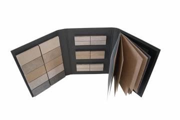 Folder con plancette removibili
