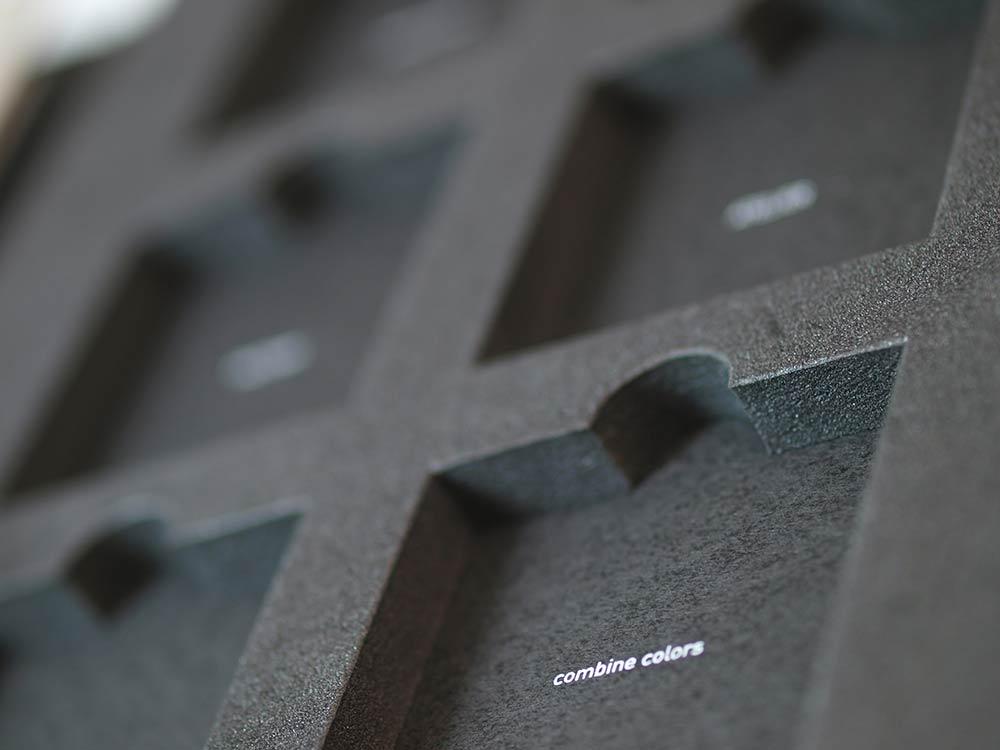 Nicchie in foam Cartesio Fullcard