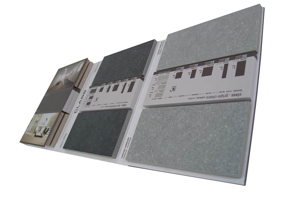 Folder con alveoli pieni