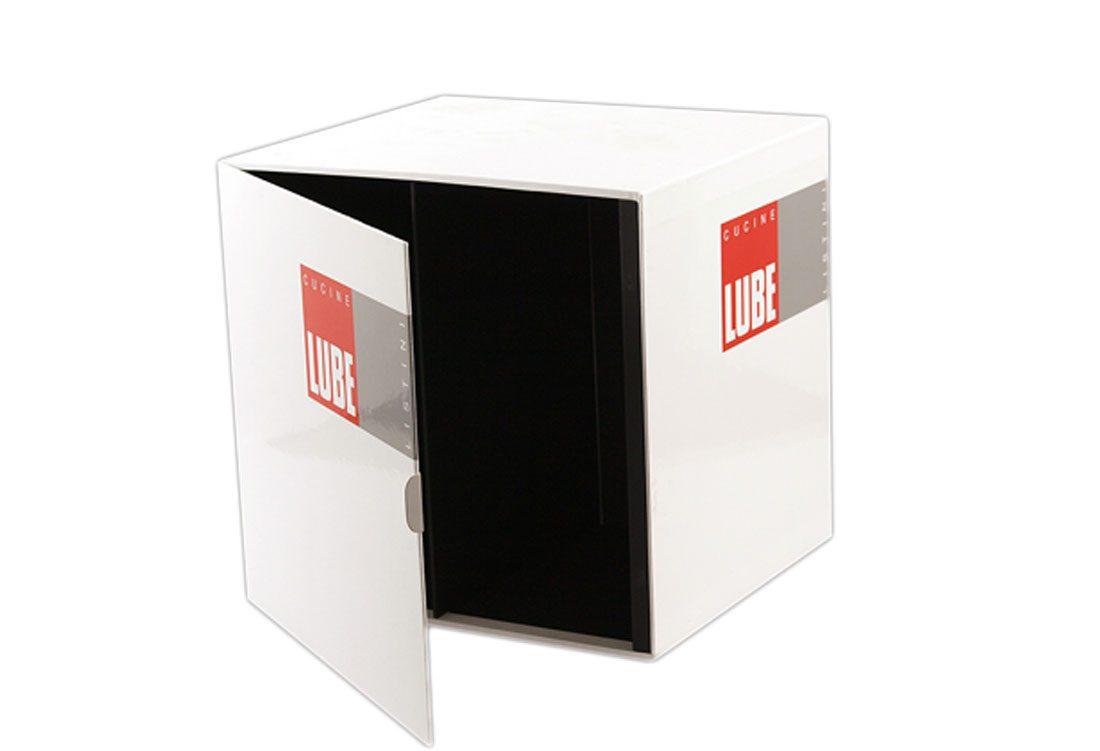 Box porta depliant Cartesio Fullcard