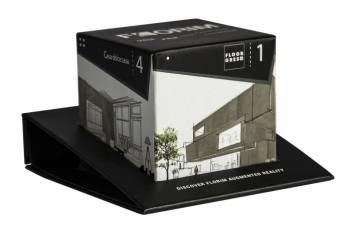Espositore base con cubo