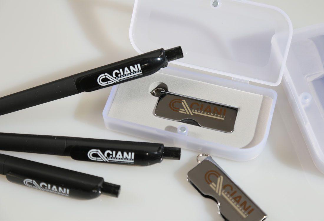Penne e chiavette USB