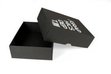 Scatola automontante fondo-coperchio con stampa a caldo
