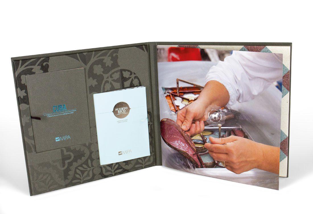 Folder carta effetto pelle cartesio fullcard 2