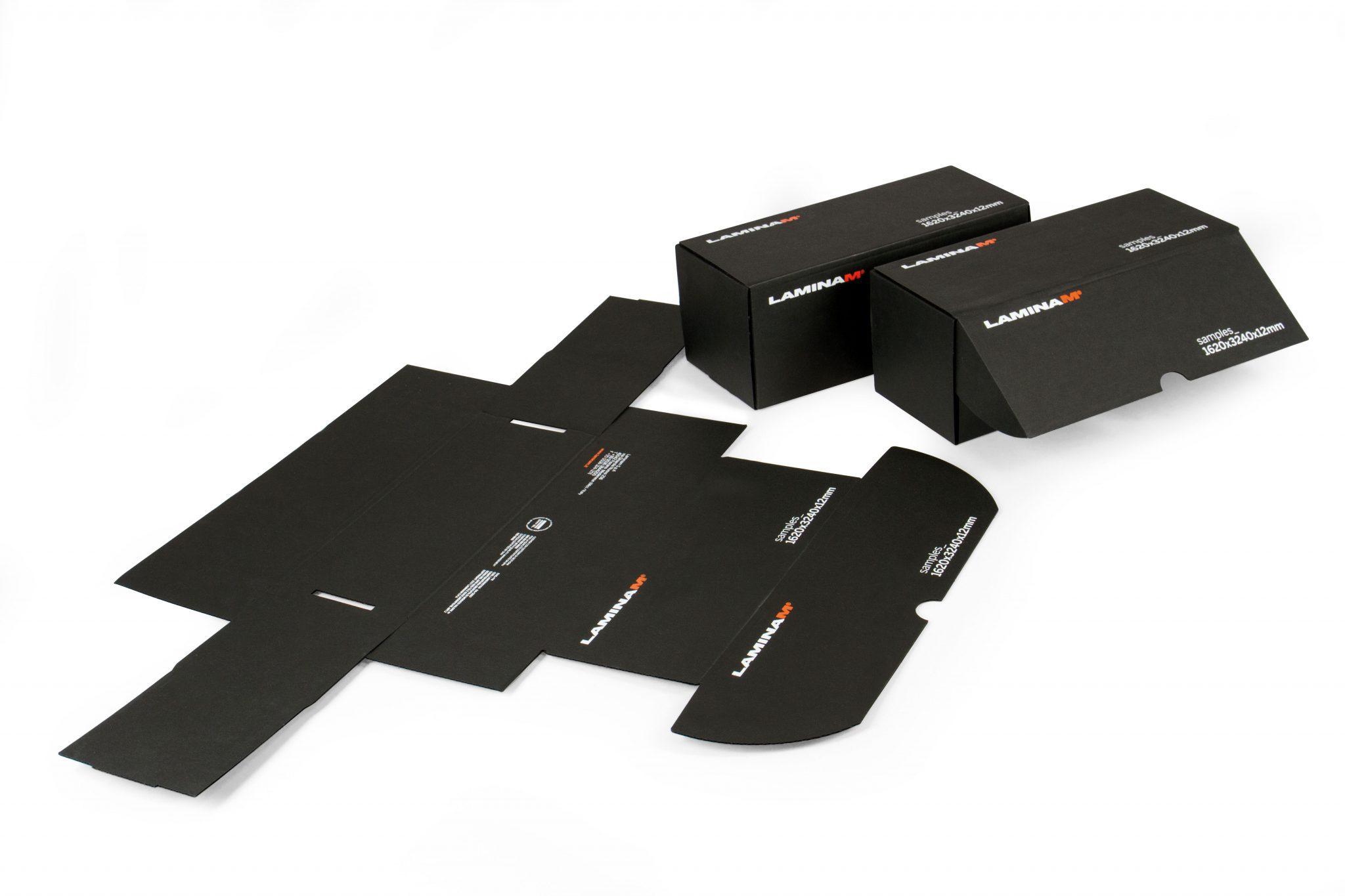 Box automontante serigrafia Cartesio Fullcard