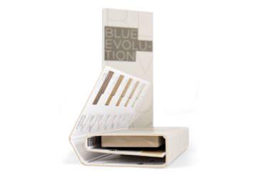 Folder in cartoncino grigio per tozzetti di spessore 2 cm
