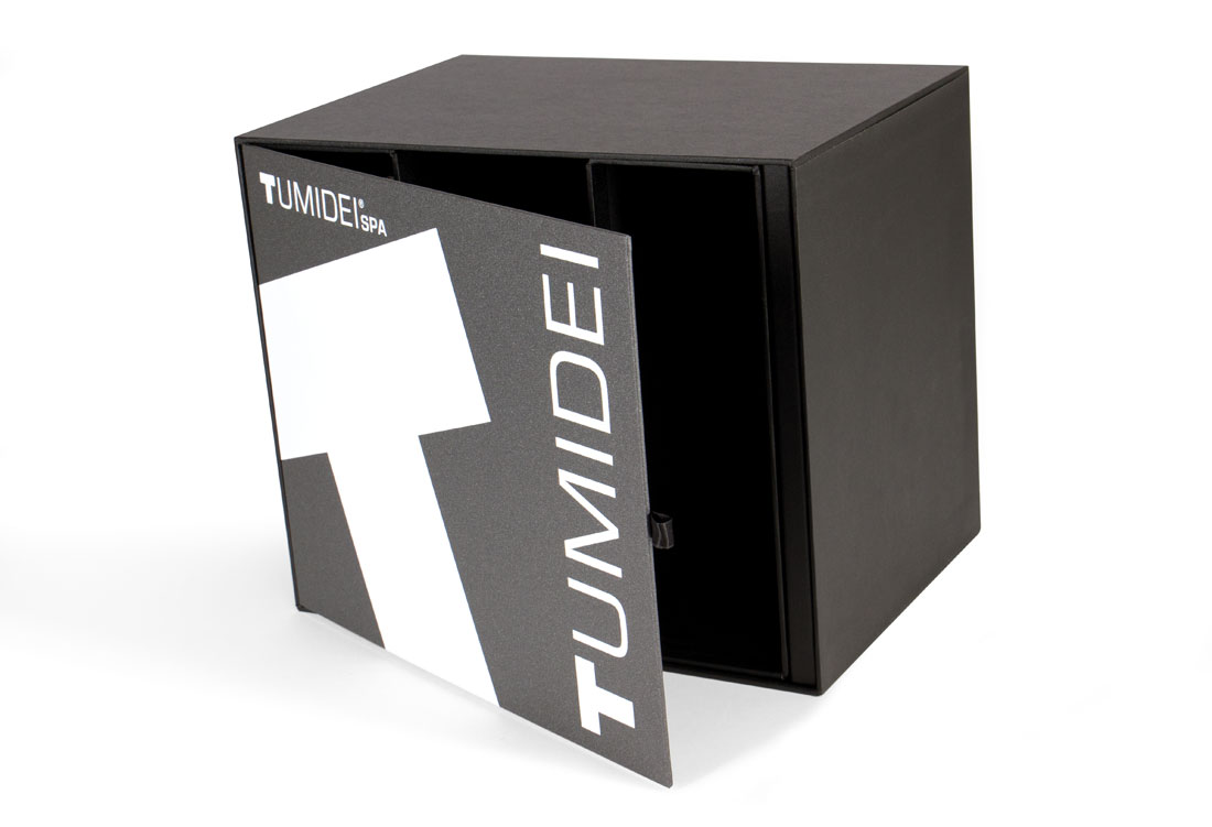 Box con cassetto estraibile