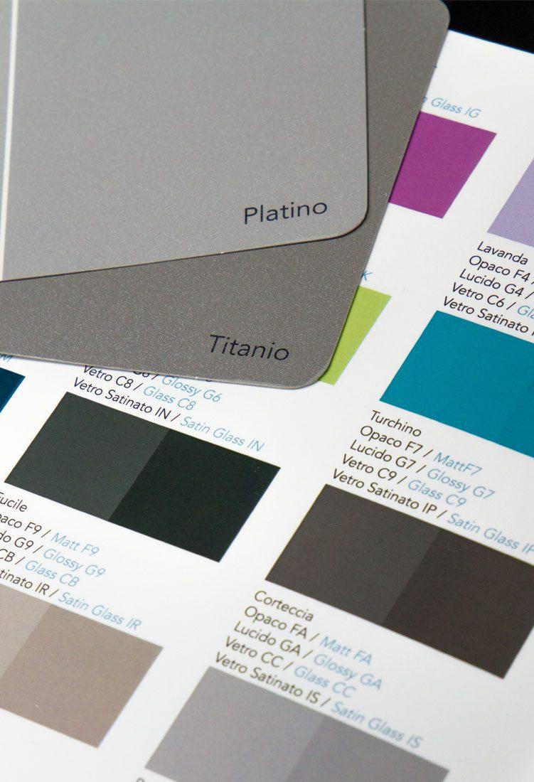 Mazzetta colori metallizzati Cartesio Fullcard 2