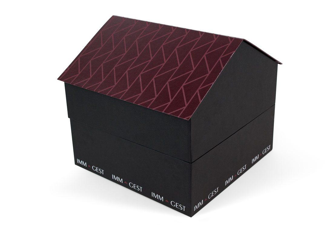 Box a forma di casa