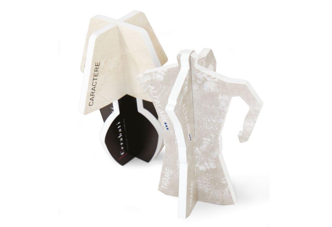 White PVC items