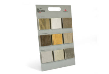 Panel for 2cm thickness tile samples