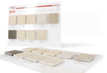 Panel made of cardboard