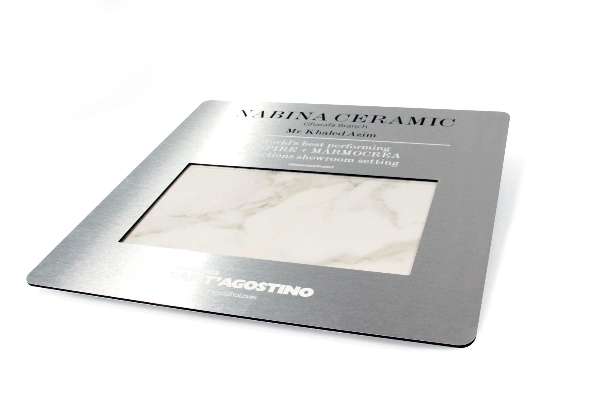 Gadget in Dibond® (alluminio) con stampa diretta