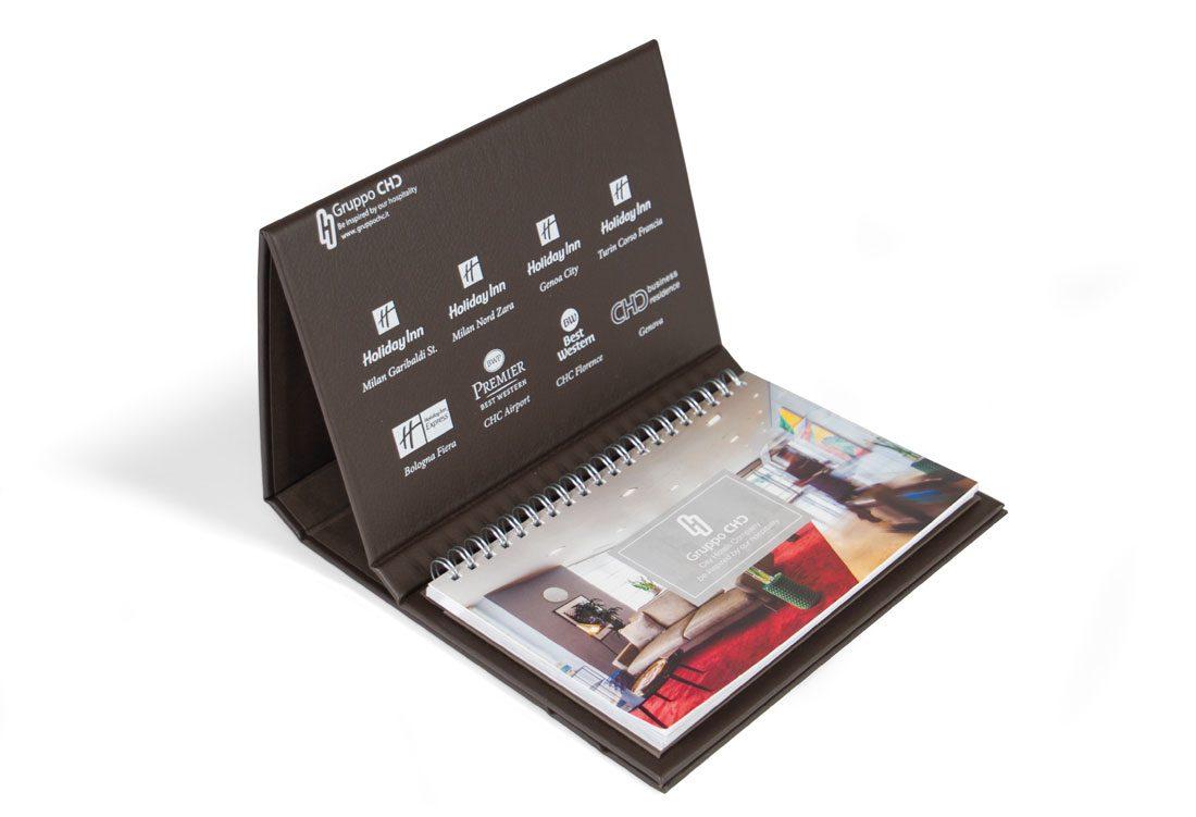 Porta calendario da tavolo
