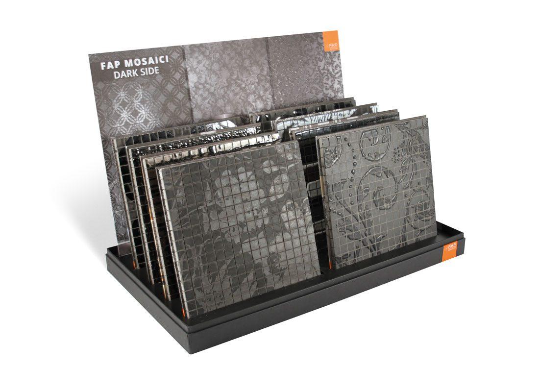 Scatola fondo-battuta-coperchio con griglia porta plance e crowner