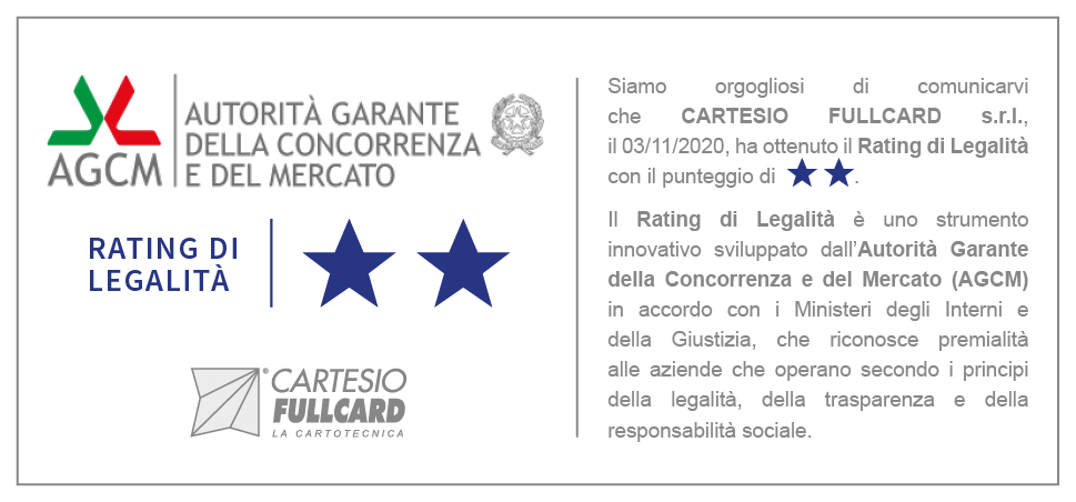 RATING LEGALITA CARTESIO FULLCARD
